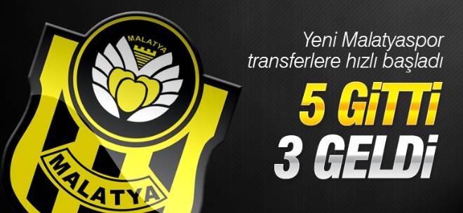Yeni Malatyaspor 3 oyuncu transfer etti