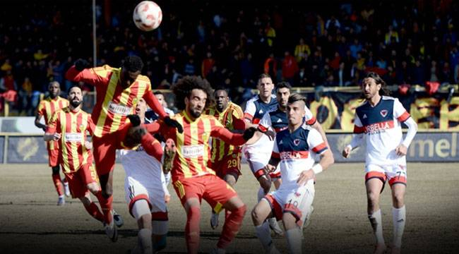 Yeni Malatyaspor Mersin İdman Yurdu'nu 2-1 yendi