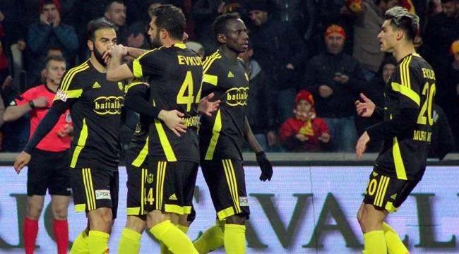 Yeni Malatyaspor Şanlıurfaspor'u 2-1 devirdi