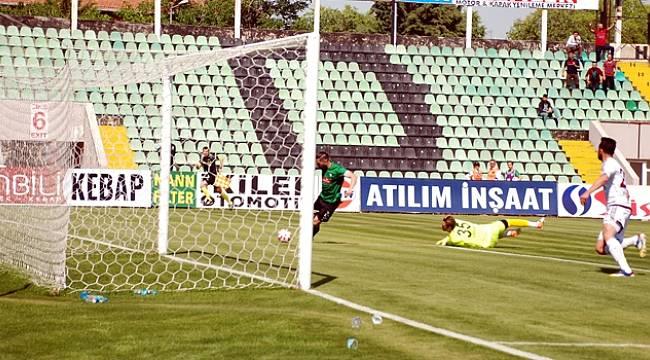 Denizlispor, Elazığspor maçında gol çıkmadı