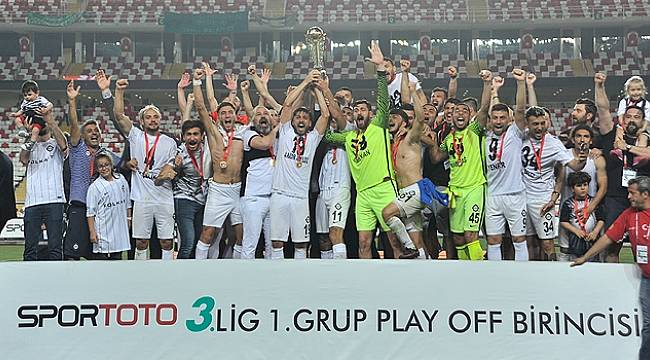 Altay, Kocaelispor'u yenerek 2. Lig'e Yükseldi
