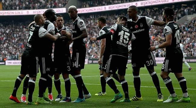 Beşiktaş Adım Adım Şampiyonluğa Koşuyor