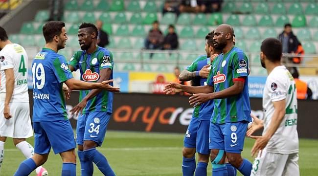 Çaykur Rizespor Bursaya Gol Oldu Yağdı