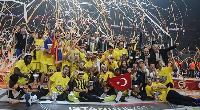 Fenerbahçe Avrupa'nın En Büyüğü Şampiyon