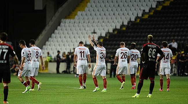 Galatasaray, Gaziantep'i ateşe attı