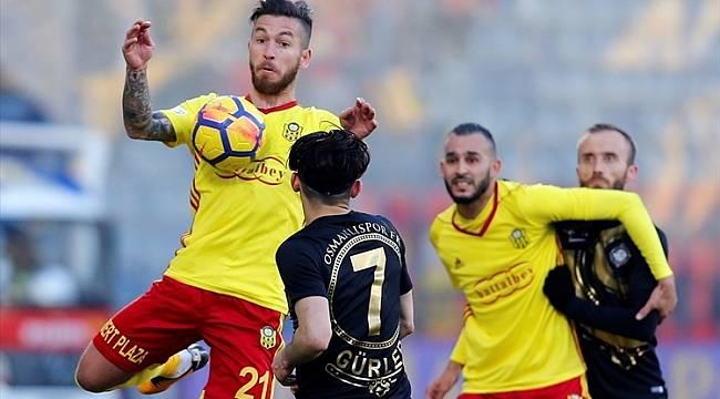 Yeni Malatyaspor, Osmanlıspor'u kötü kaçırdı