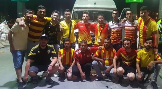 Malatyasporlu Taraftar Trafik Kazası Geçirdi