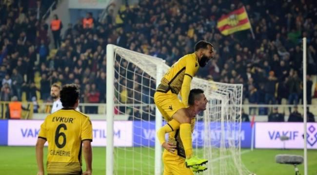 Yeni Malatyaspor'dan Trabzon'a Golbastı