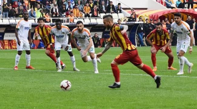 Yeni Malatyaspor Alanya'yı elinden kaçırdı