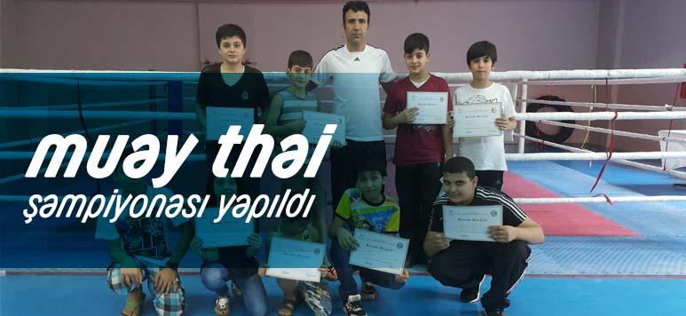 Malatya Muay Thai Şampiyonası Yapıldı