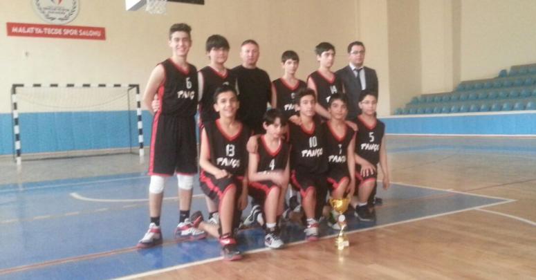 Rahime Batu Basketbol takımı Malatya Şampiyonu oldu