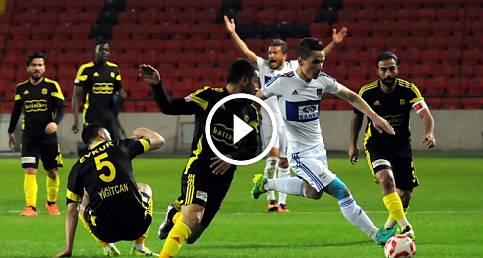 Gaziantep B.Bld. - Yeni Malatyaspor 1-2 Maç Özeti